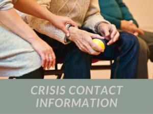 Crisis Contact Image